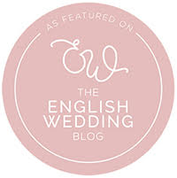 Joss Denham as featured on The English Wedding Blog