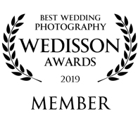 Best Wedding Photography Wedisson Awards 2019 Member Joss Denham